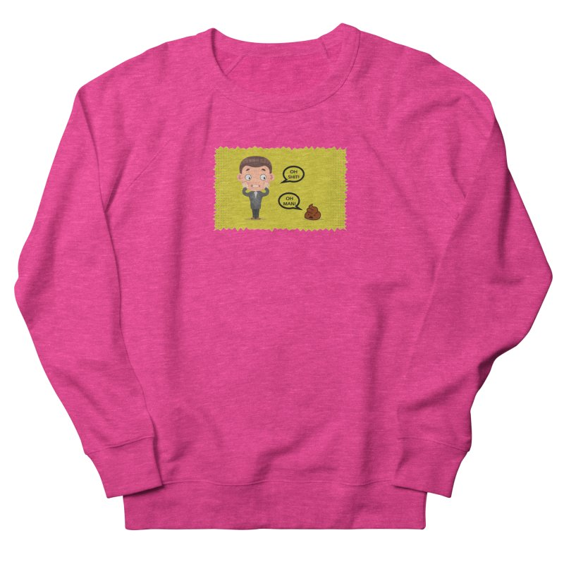 CAN I SPEAK TO YOU Men's French Terry Sweatshirt by Sinazz's Artist Shop