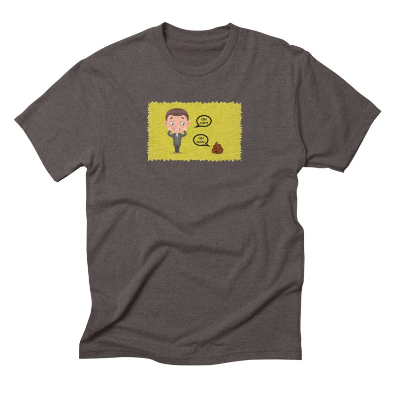 CAN I SPEAK TO YOU Men's Triblend T-Shirt by Sinazz's Artist Shop