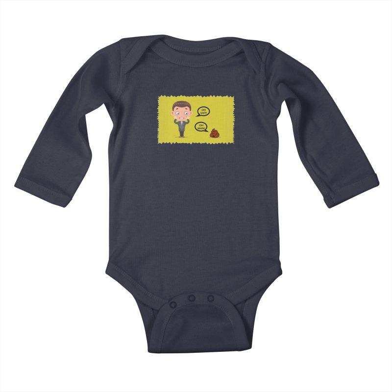 CAN I SPEAK TO YOU Kids Baby Longsleeve Bodysuit by Sinazz's Artist Shop