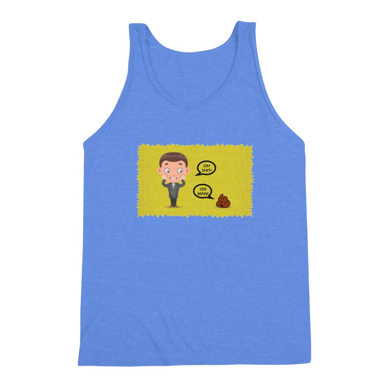 CAN I SPEAK TO YOU Men's Triblend Tank by Sinazz's Artist Shop