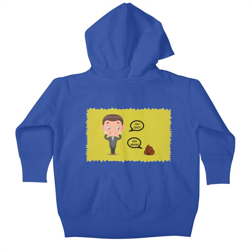 CAN I SPEAK TO YOU Kids Baby Zip-Up Hoody by Sinazz's Artist Shop