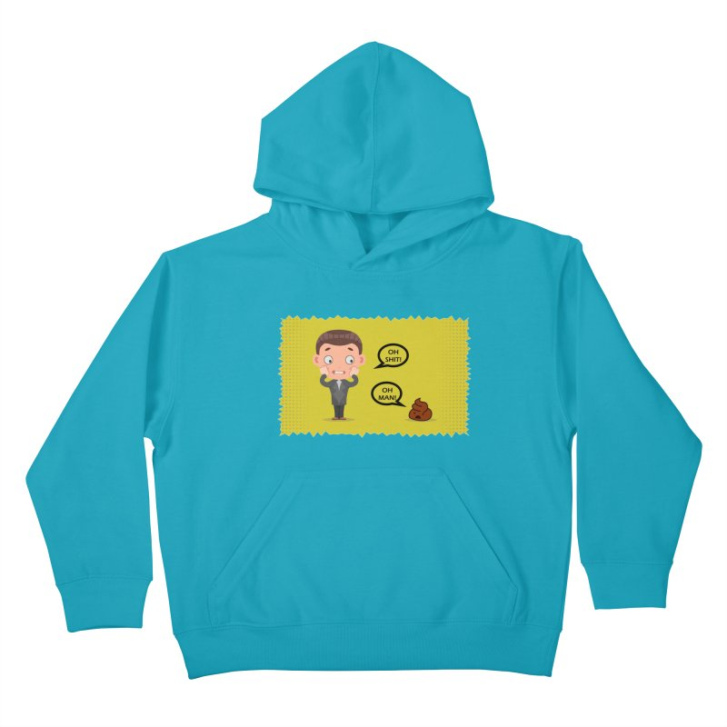 CAN I SPEAK TO YOU Kids Pullover Hoody by Sinazz's Artist Shop