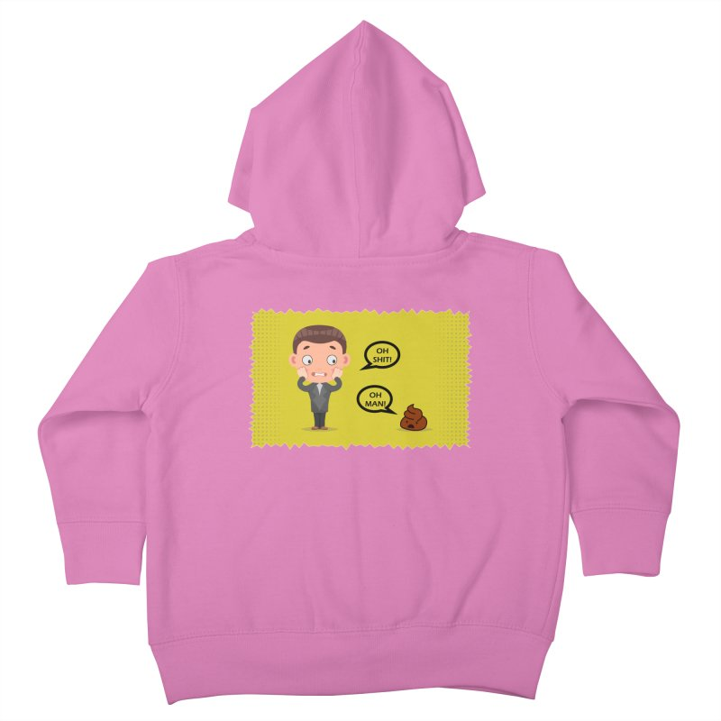 CAN I SPEAK TO YOU Kids Toddler Zip-Up Hoody by Sinazz's Artist Shop