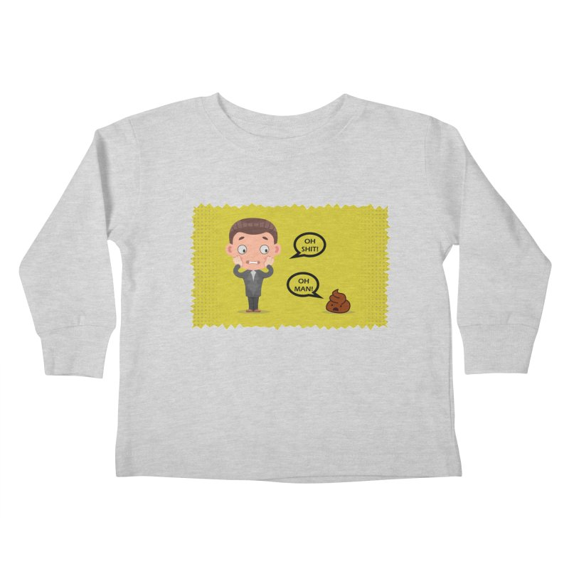 CAN I SPEAK TO YOU Kids Toddler Longsleeve T-Shirt by Sinazz's Artist Shop