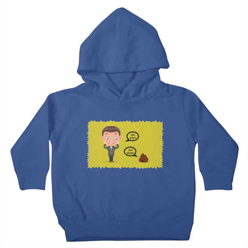 CAN I SPEAK TO YOU Kids Toddler Pullover Hoody by Sinazz's Artist Shop