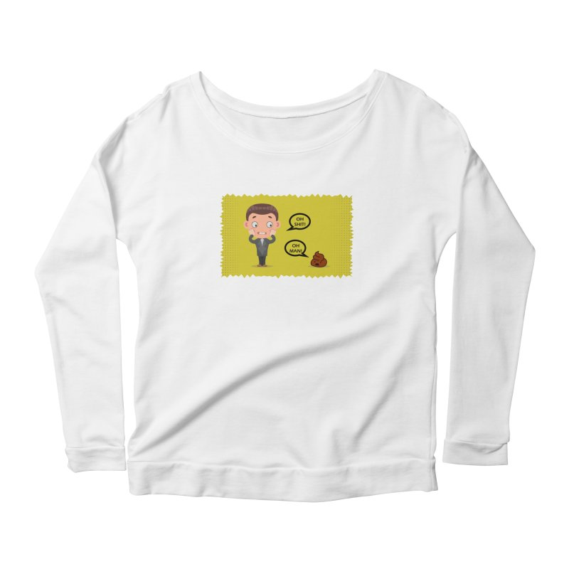 CAN I SPEAK TO YOU Women's Scoop Neck Longsleeve T-Shirt by Sinazz's Artist Shop