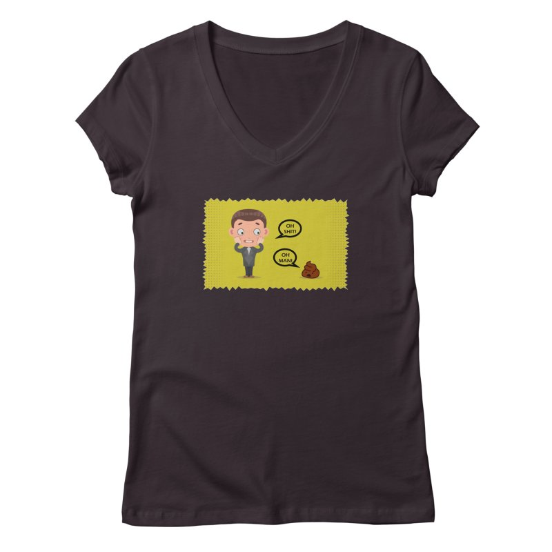 CAN I SPEAK TO YOU Women's Regular V-Neck by Sinazz's Artist Shop