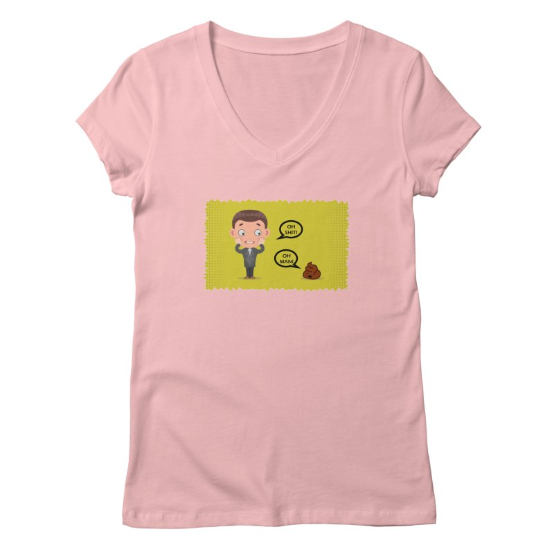 CAN I SPEAK TO YOU Women's V-Neck by Sinazz's Artist Shop