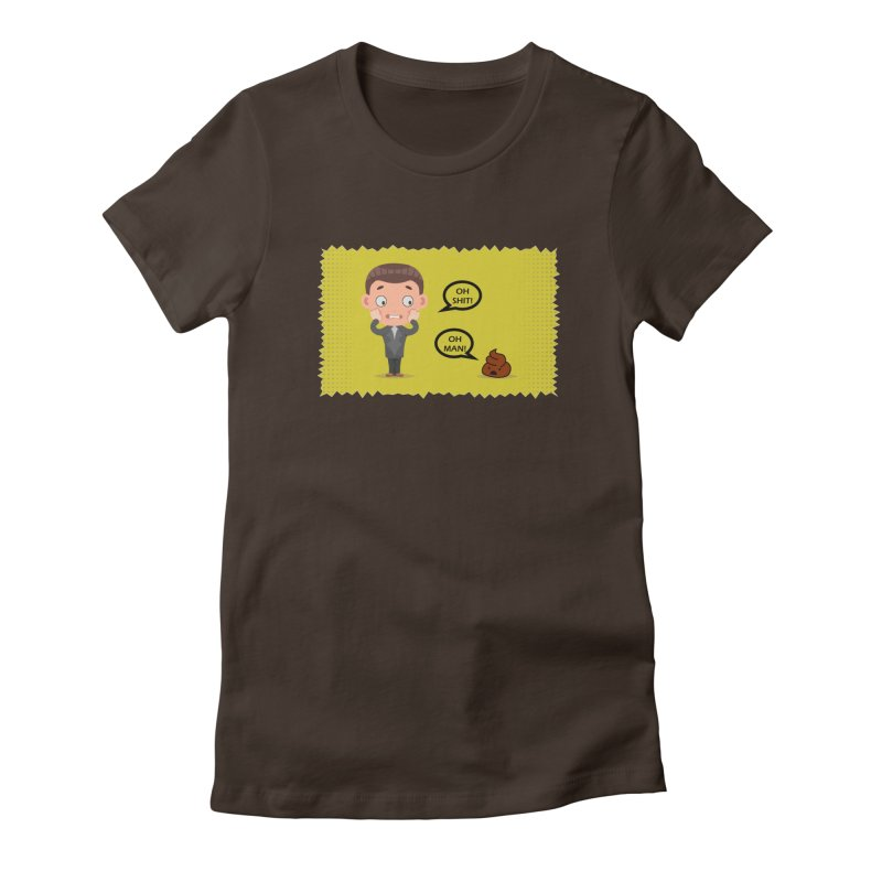CAN I SPEAK TO YOU Women's Fitted T-Shirt by Sinazz's Artist Shop