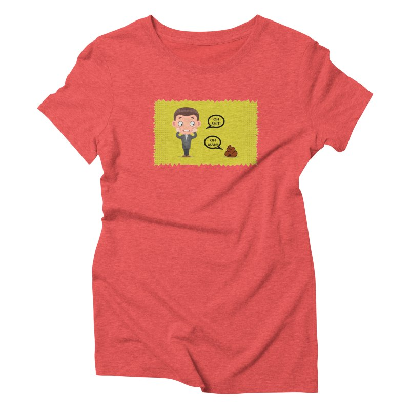 CAN I SPEAK TO YOU Women's Triblend T-shirt by Sinazz's Artist Shop