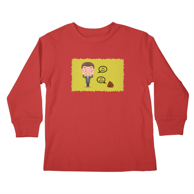 CAN I SPEAK TO YOU Kids Longsleeve T-Shirt by Sinazz's Artist Shop