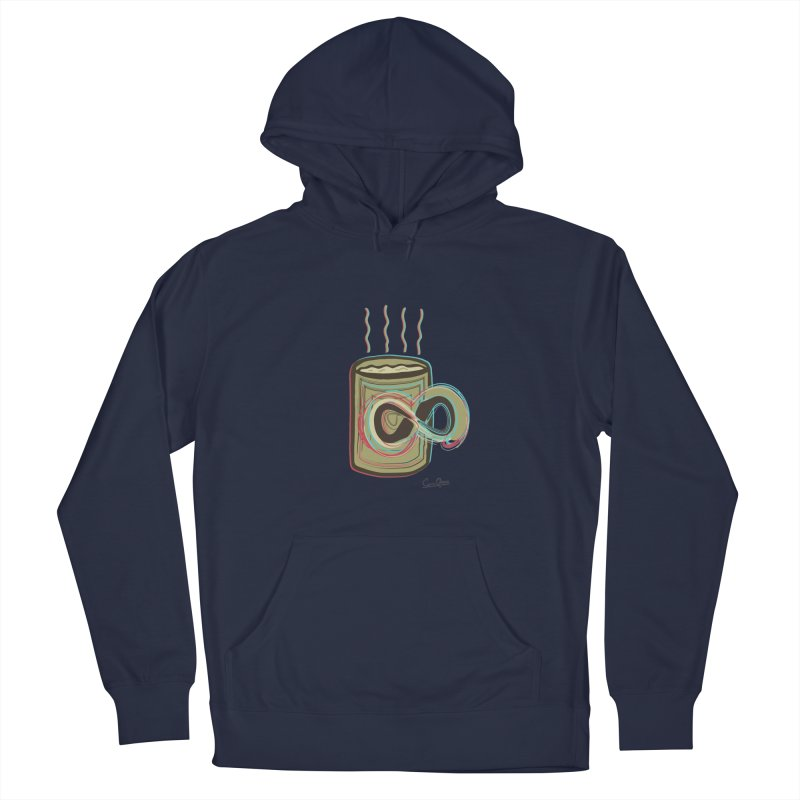 INFINITE COFFE Men's Pullover Hoody by Sinazz's Artist Shop