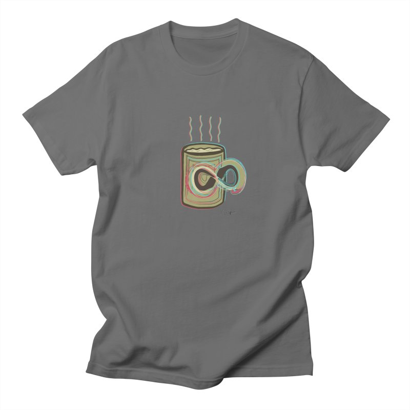 INFINITE COFFE Men's T-Shirt by Sinazz's Artist Shop