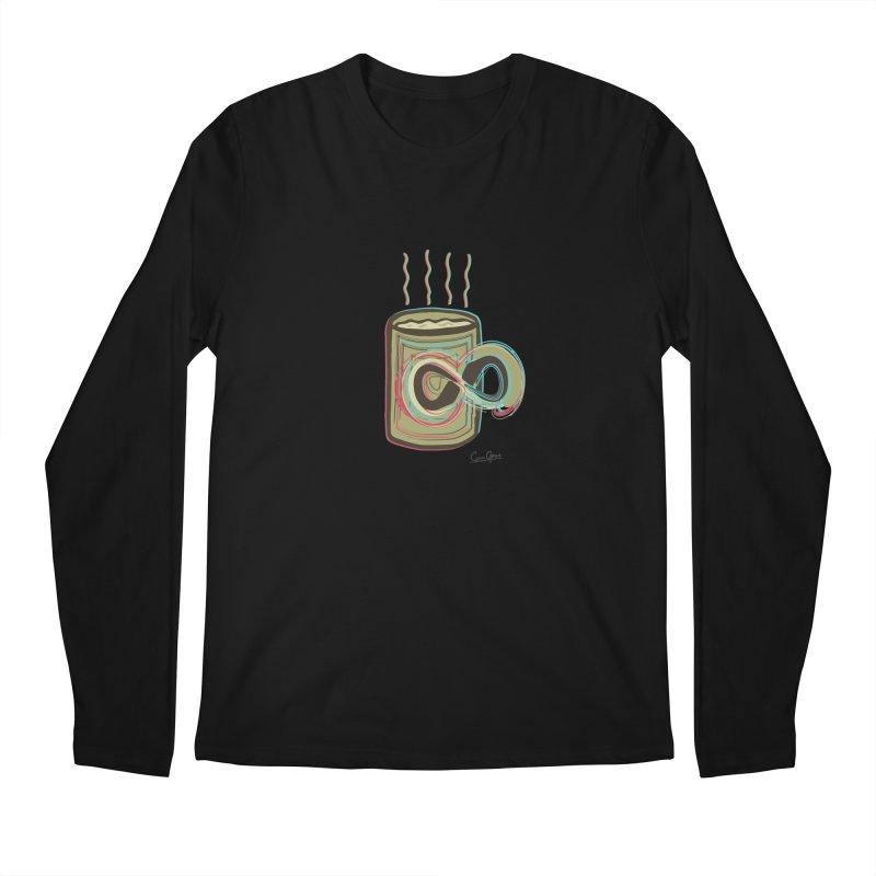INFINITE COFFE Men's Longsleeve T-Shirt by Sinazz's Artist Shop