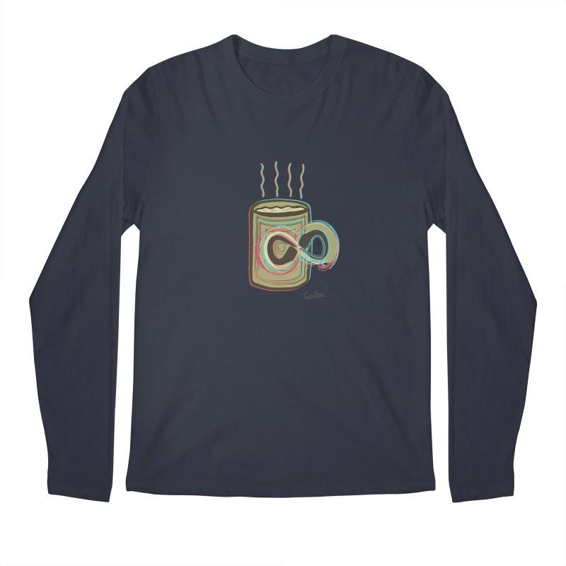 INFINITE COFFE Men's Regular Longsleeve T-Shirt by Sinazz's Artist Shop
