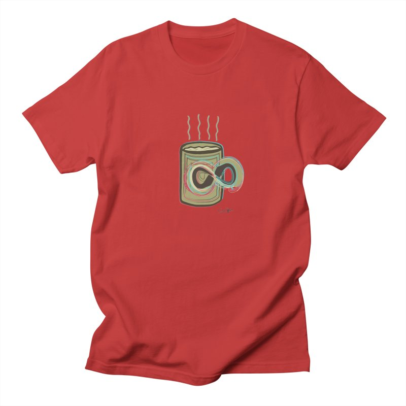 INFINITE COFFE Women's Regular Unisex T-Shirt by Sinazz's Artist Shop