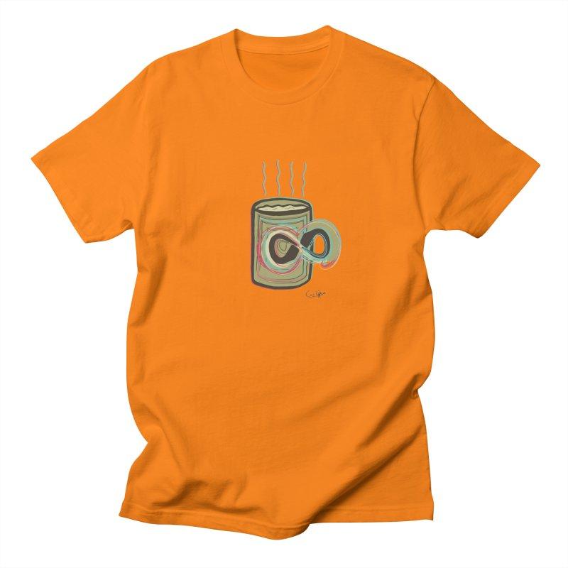 INFINITE COFFE Men's Regular T-Shirt by Sinazz's Artist Shop
