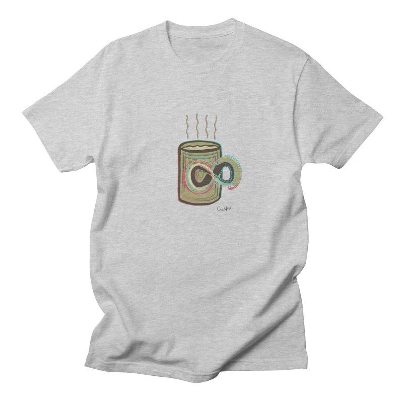 INFINITE COFFE Women's Unisex T-Shirt by Sinazz's Artist Shop