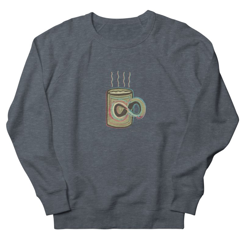 INFINITE COFFE Women's French Terry Sweatshirt by Sinazz's Artist Shop