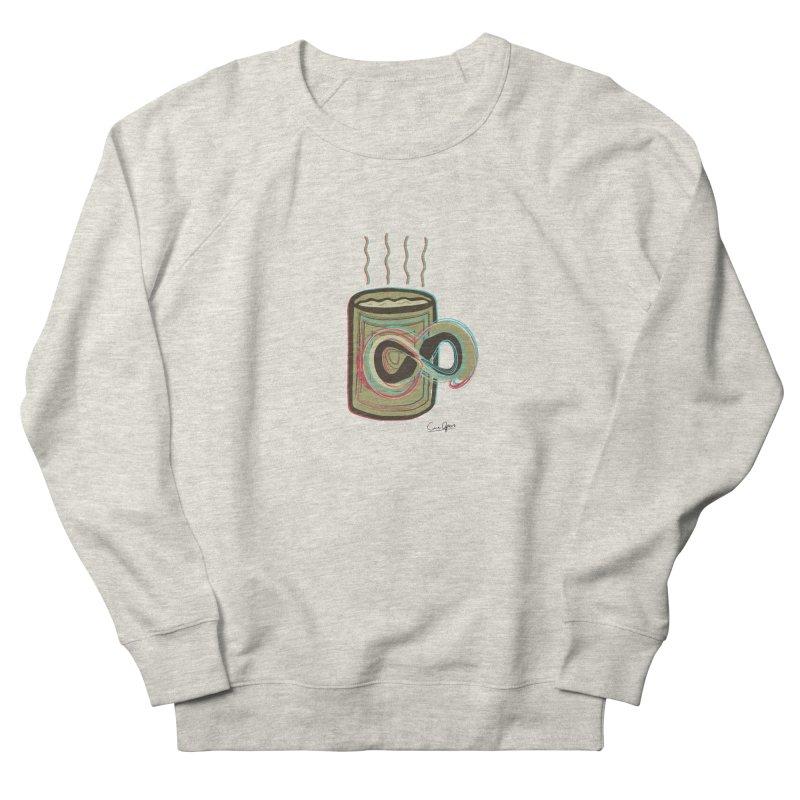 INFINITE COFFE Women's Sweatshirt by Sinazz's Artist Shop