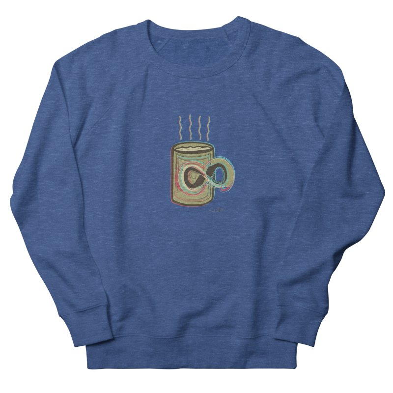 INFINITE COFFE Men's French Terry Sweatshirt by Sinazz's Artist Shop