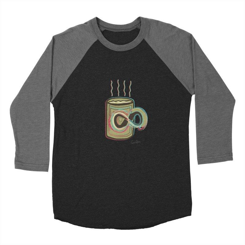 INFINITE COFFE Women's Baseball Triblend T-Shirt by Sinazz's Artist Shop