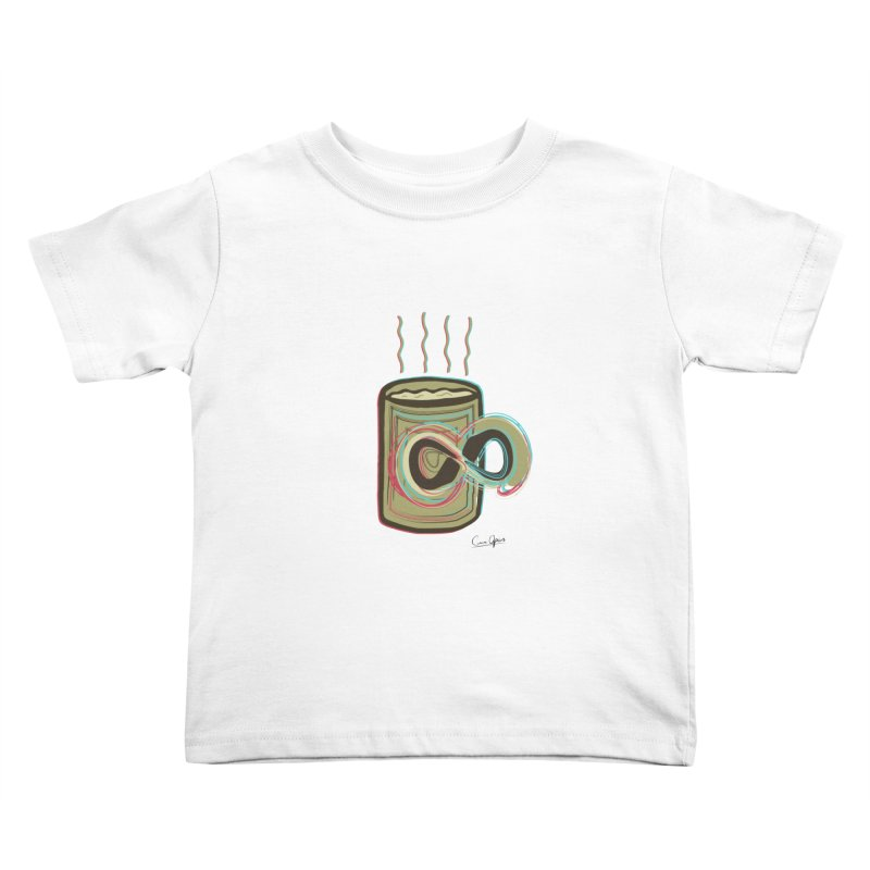 INFINITE COFFE Kids Toddler T-Shirt by Sinazz's Artist Shop
