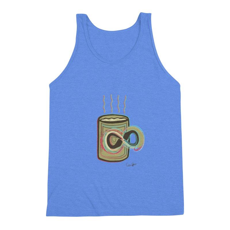 INFINITE COFFE Men's Triblend Tank by Sinazz's Artist Shop