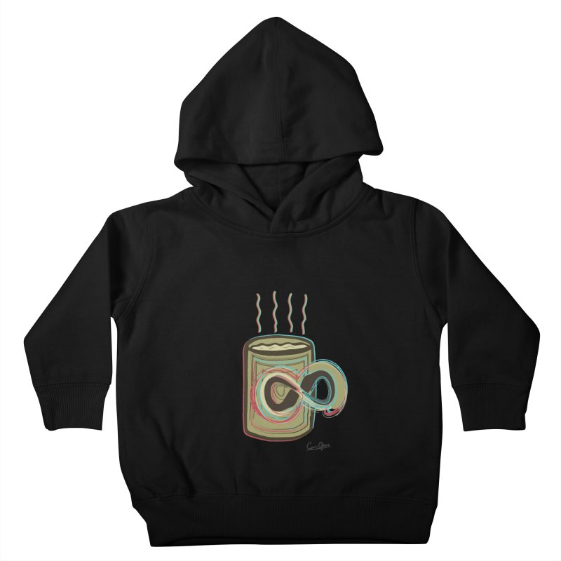 INFINITE COFFE Kids Toddler Pullover Hoody by Sinazz's Artist Shop