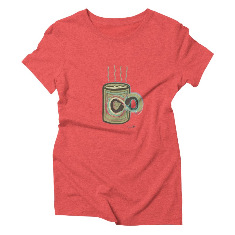 INFINITE COFFE Women's Triblend T-Shirt by Sinazz's Artist Shop