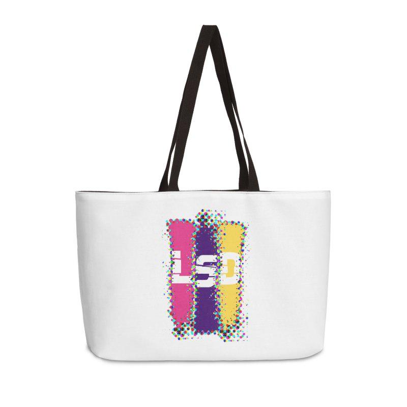 L.S.D. Accessories Weekender Bag Bag by Sinazz's Artist Shop
