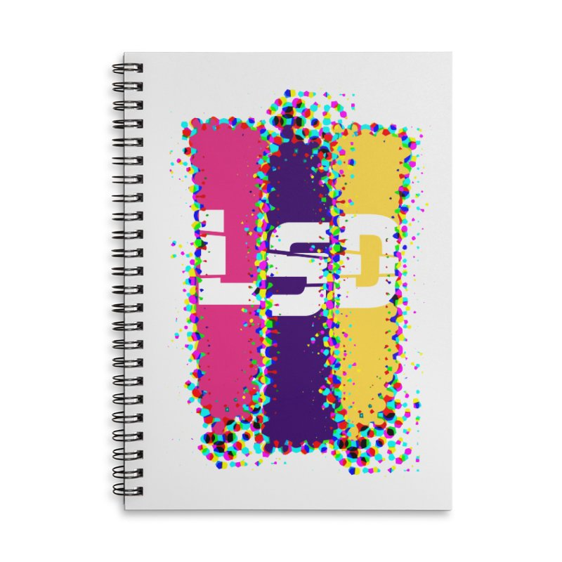 L.S.D. Accessories Lined Spiral Notebook by Sinazz's Artist Shop