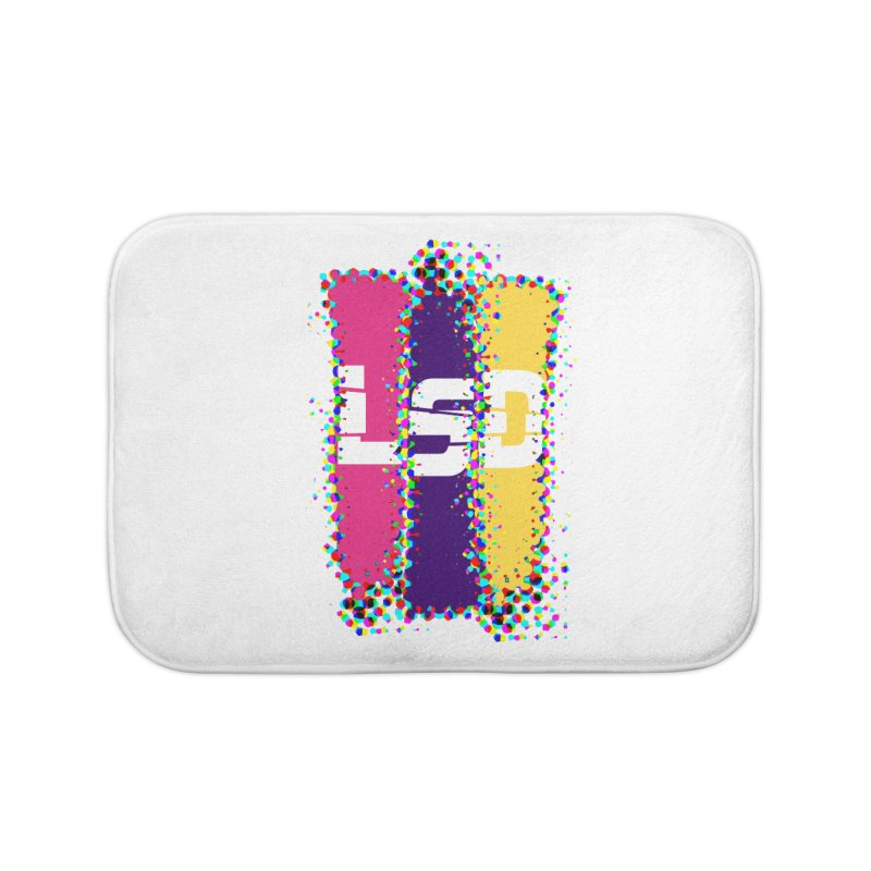 L.S.D. Home Bath Mat by Sinazz's Artist Shop