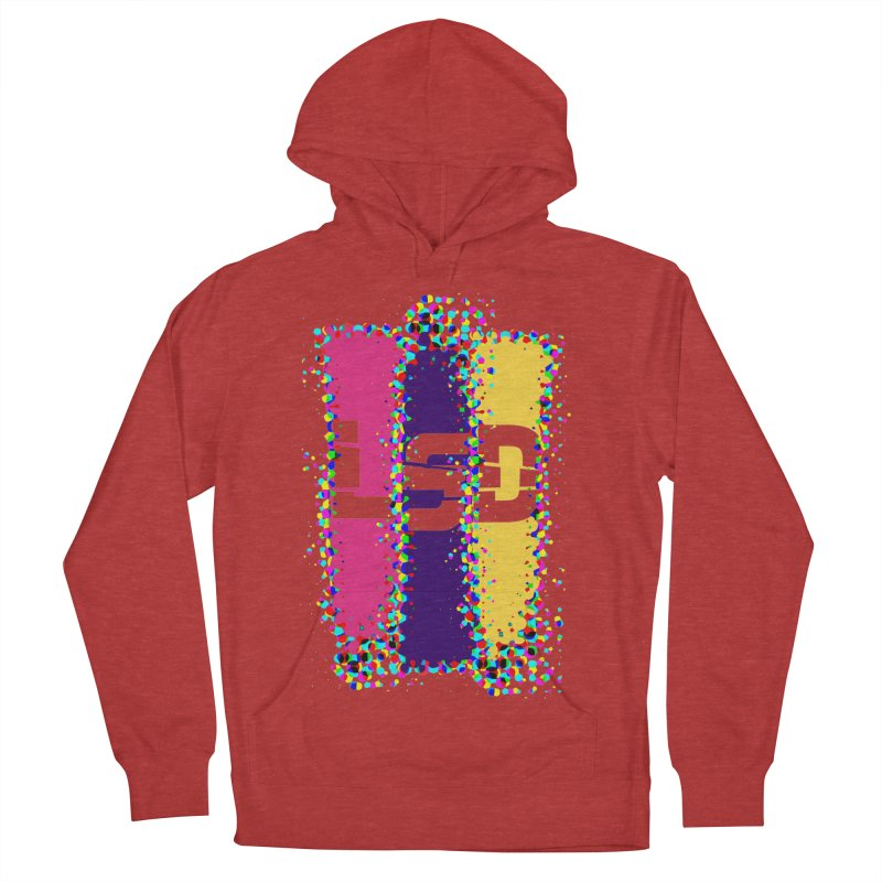 L.S.D. Men's French Terry Pullover Hoody by Sinazz's Artist Shop