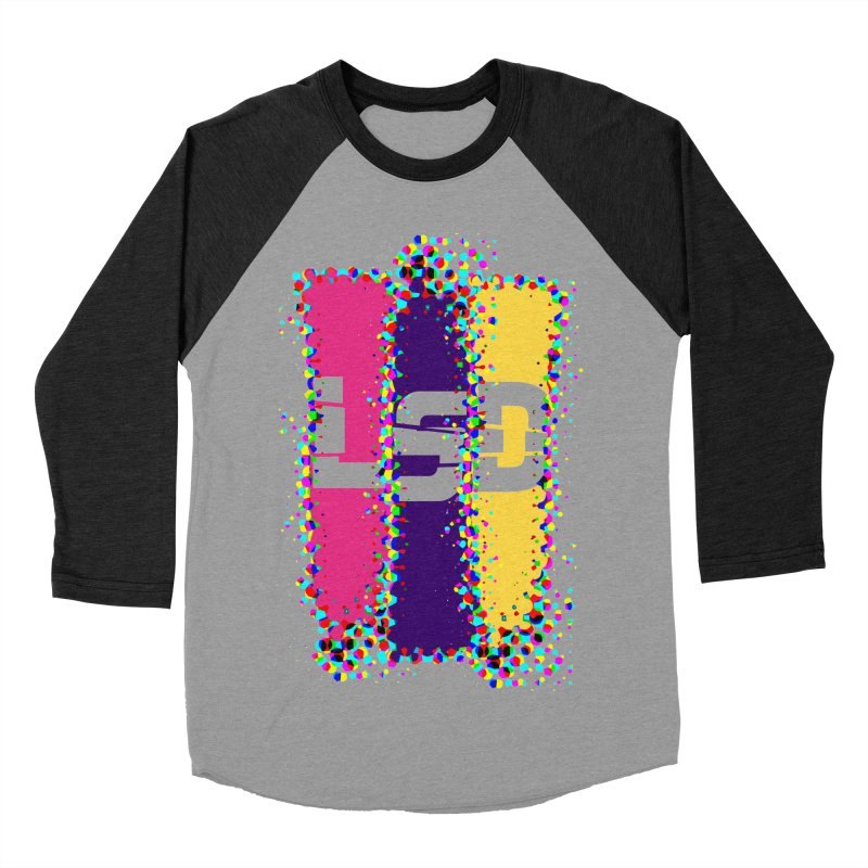 L.S.D. Men's Baseball Triblend Longsleeve T-Shirt by Sinazz's Artist Shop