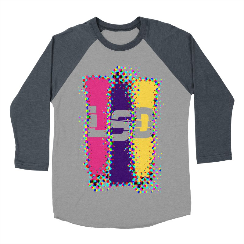 L.S.D. Men's Baseball Triblend T-Shirt by Sinazz's Artist Shop