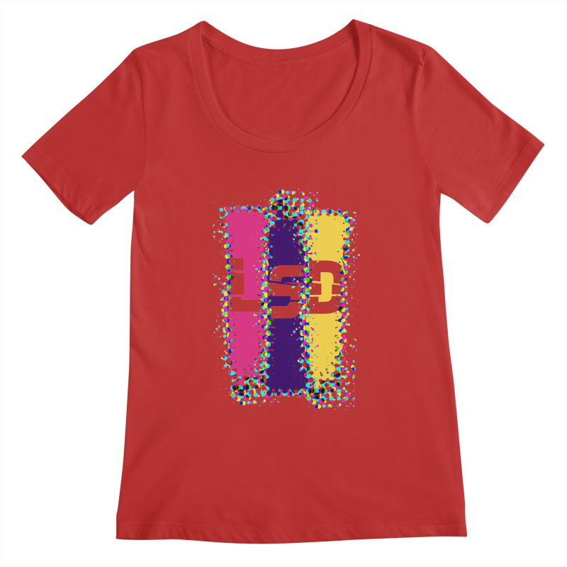 L.S.D. Women's Scoopneck by Sinazz's Artist Shop