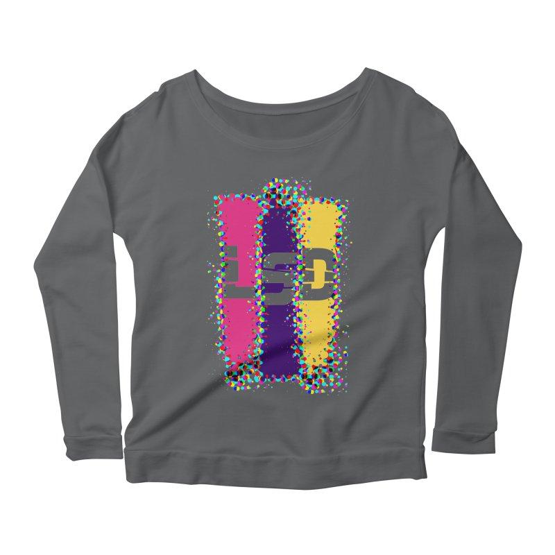 L.S.D. Women's Scoop Neck Longsleeve T-Shirt by Sinazz's Artist Shop