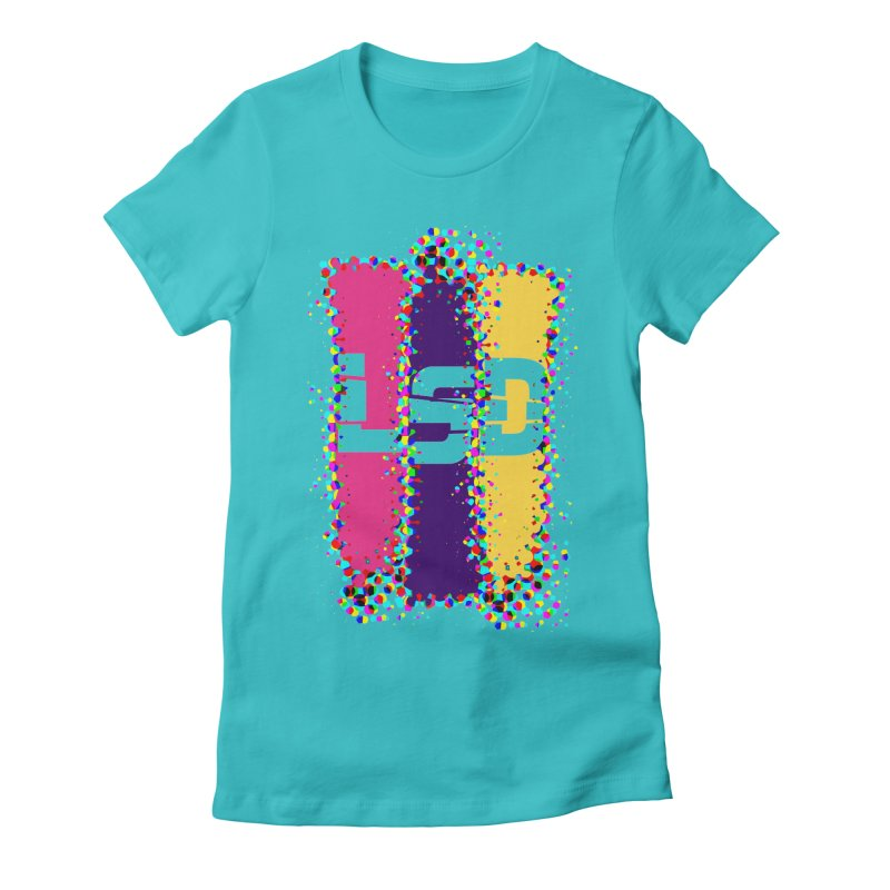 L.S.D. Women's Fitted T-Shirt by Sinazz's Artist Shop