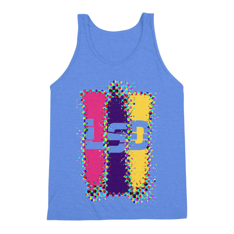 L.S.D. Men's Triblend Tank by Sinazz's Artist Shop