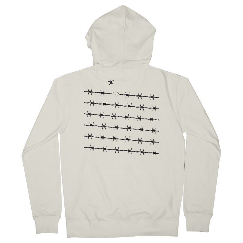 BREAK TO FREEDOM Women's French Terry Zip-Up Hoody by Sinazz's Artist Shop