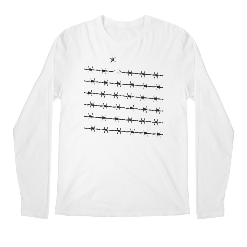 BREAK TO FREEDOM Men's Regular Longsleeve T-Shirt by Sinazz's Artist Shop