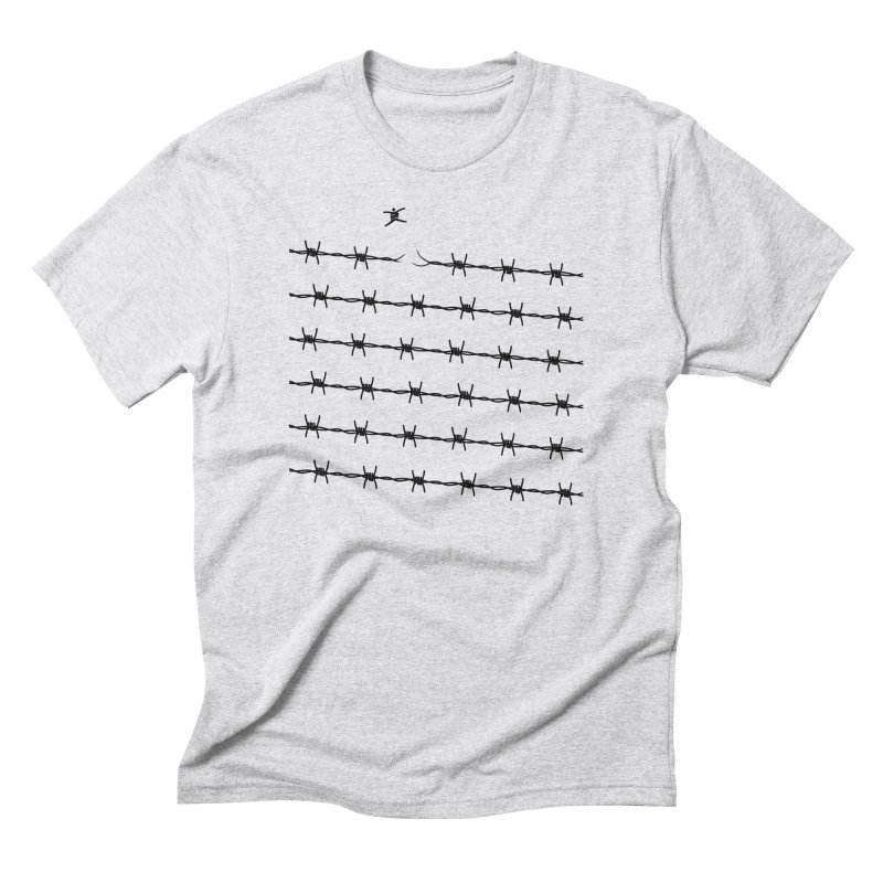 BREAK TO FREEDOM in Men's Triblend T-shirt Heather White by Sinazz's Artist Shop