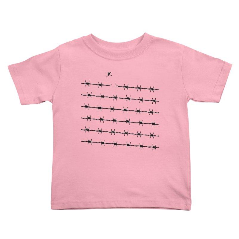 BREAK TO FREEDOM Kids Toddler T-Shirt by Sinazz's Artist Shop