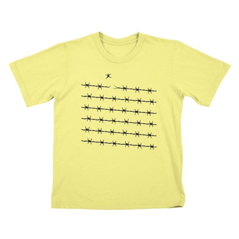 BREAK TO FREEDOM Kids T-shirt by Sinazz's Artist Shop