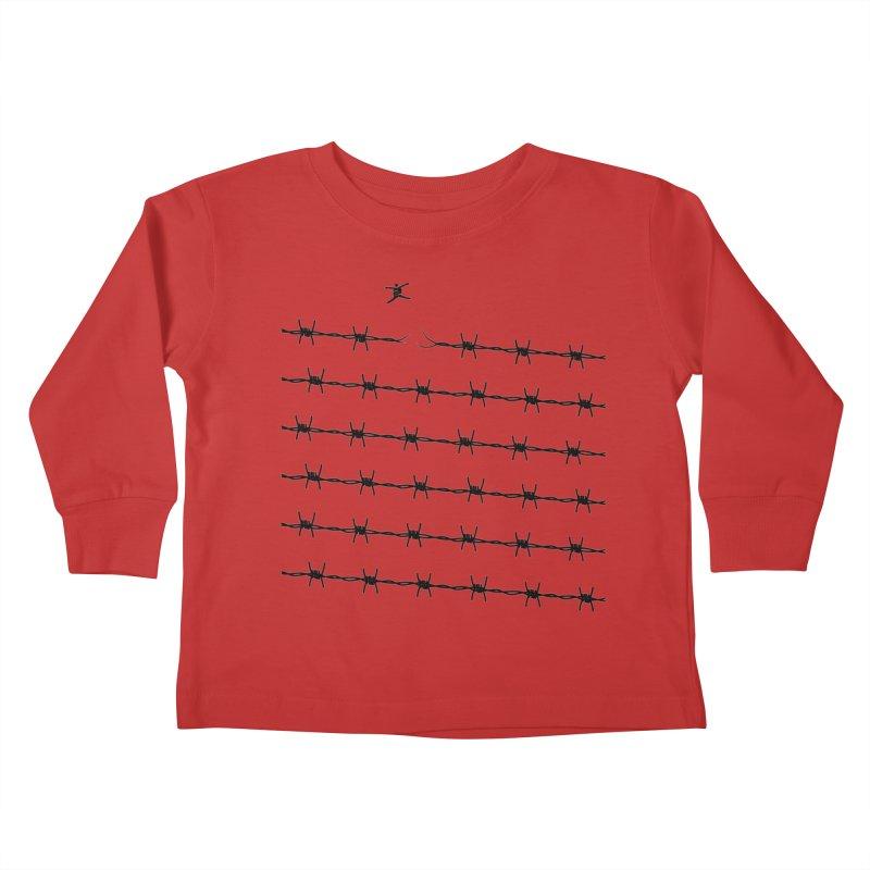 BREAK TO FREEDOM Kids Toddler Longsleeve T-Shirt by Sinazz's Artist Shop