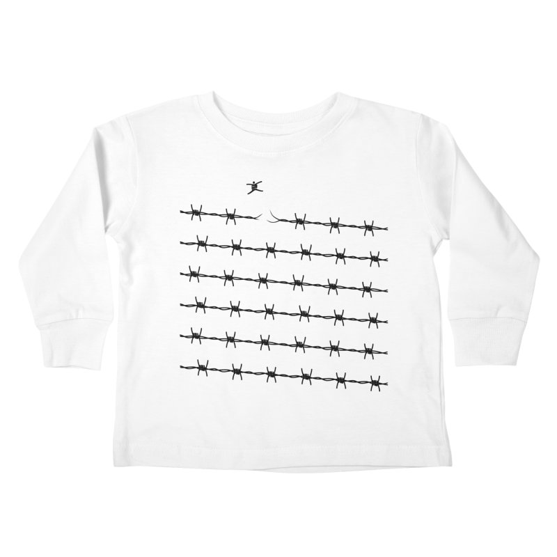 BREAK TO FREEDOM Kids Toddler Longsleeve T-Shirt by Sinazz's Artist Shop