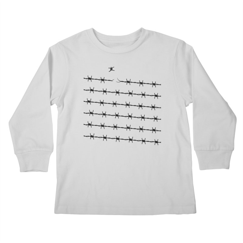 BREAK TO FREEDOM Kids Longsleeve T-Shirt by Sinazz's Artist Shop