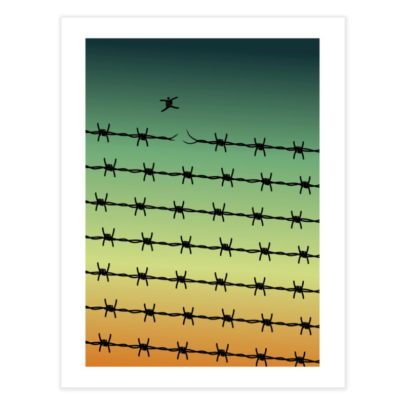 BREAK TO FREEDOM Home Fine Art Print by Sinazz's Artist Shop