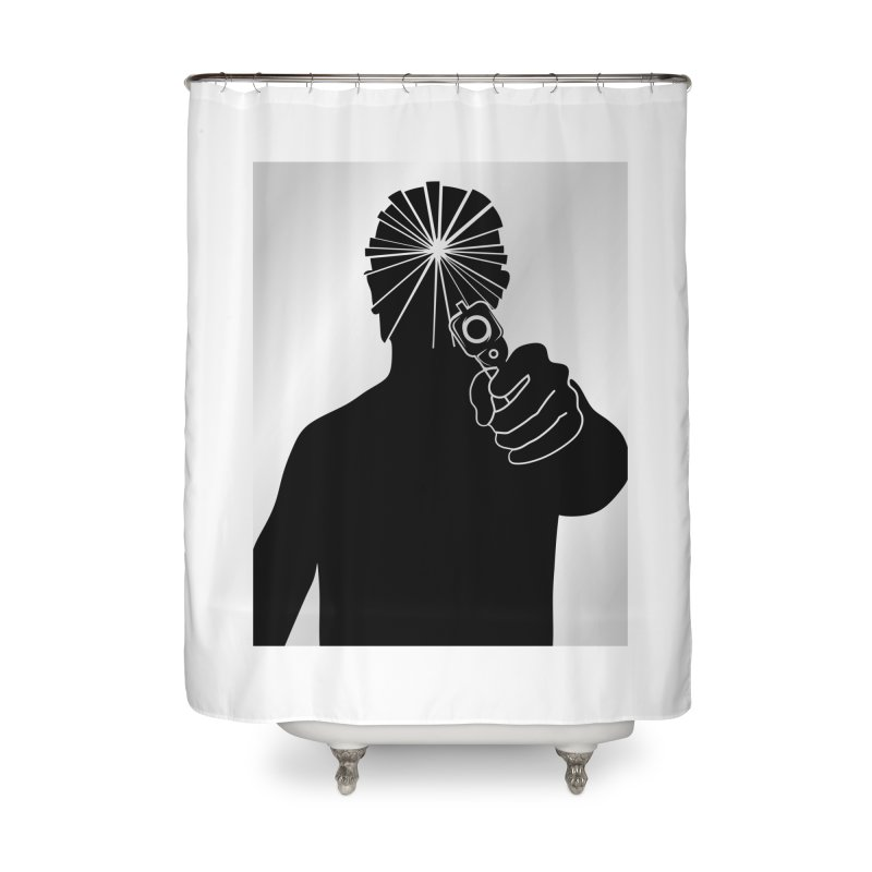 HIT Home Shower Curtain by Sinazz's Artist Shop